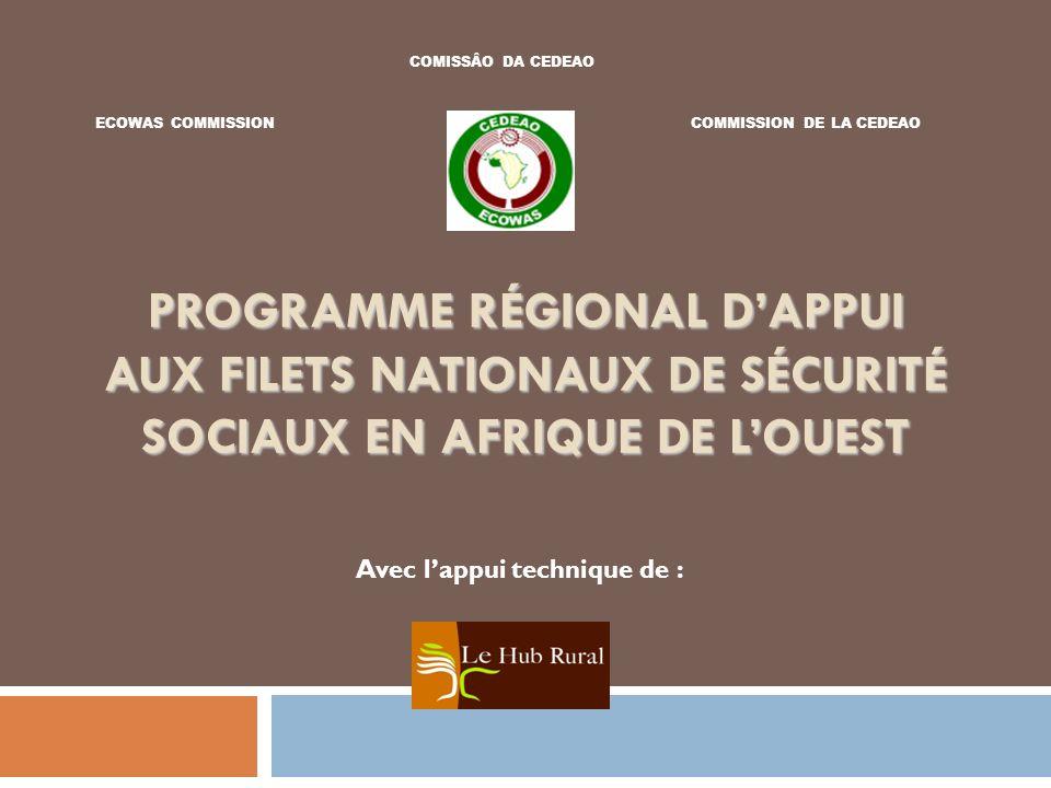COMISSÂO DA CEDEAO ECOWAS COMMISSION. COMMISSION DE LA CEDEAO.
