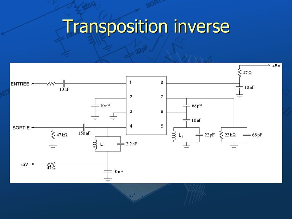 Transposition inverse