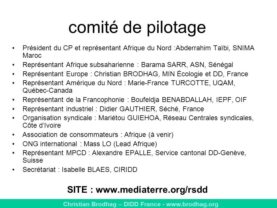SITE : www.mediaterre.org/rsdd