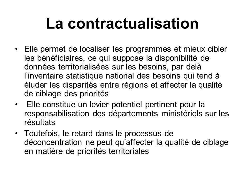 La contractualisation