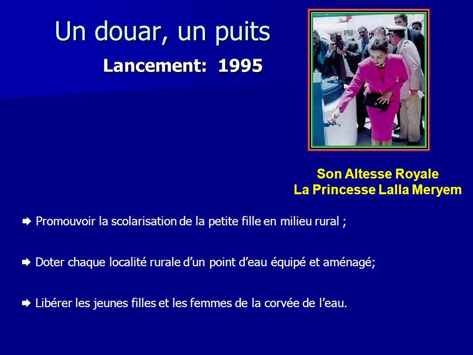 Un douar, un puits Lancement: 1995
