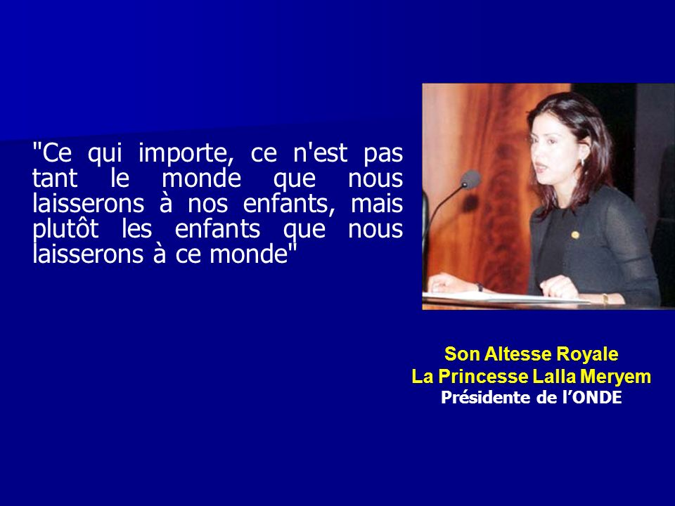 La Princesse Lalla Meryem