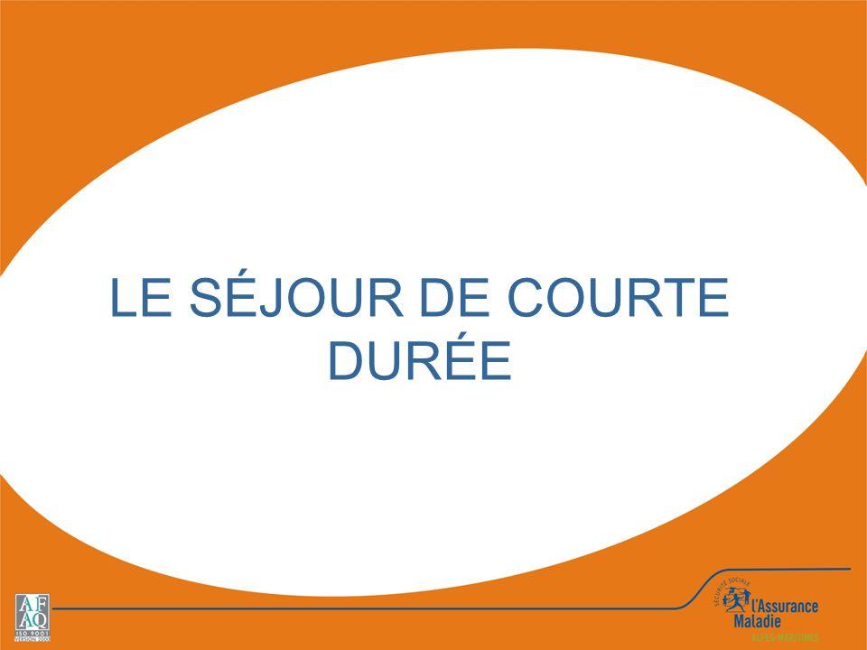 LE SÉJOUR DE COURTE DURÉE