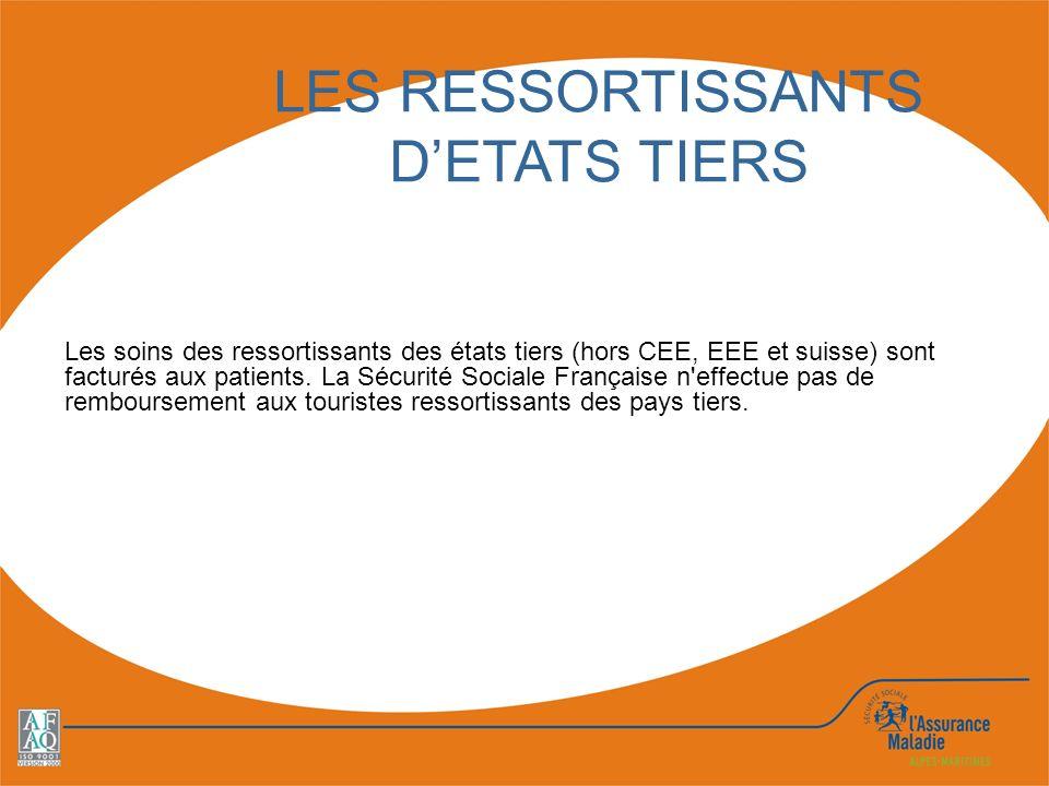 LES RESSORTISSANTS D'ETATS TIERS