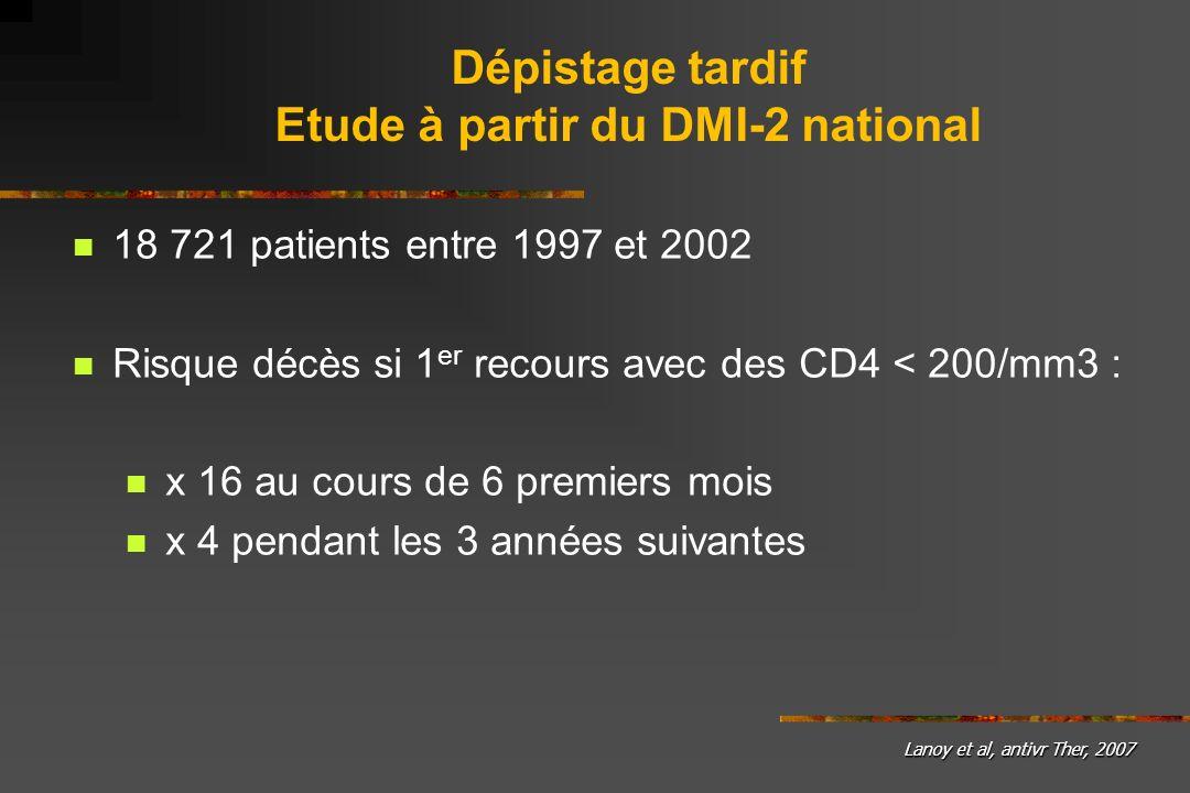 Etude à partir du DMI-2 national