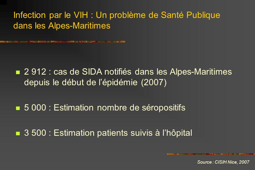 5 000 : Estimation nombre de séropositifs