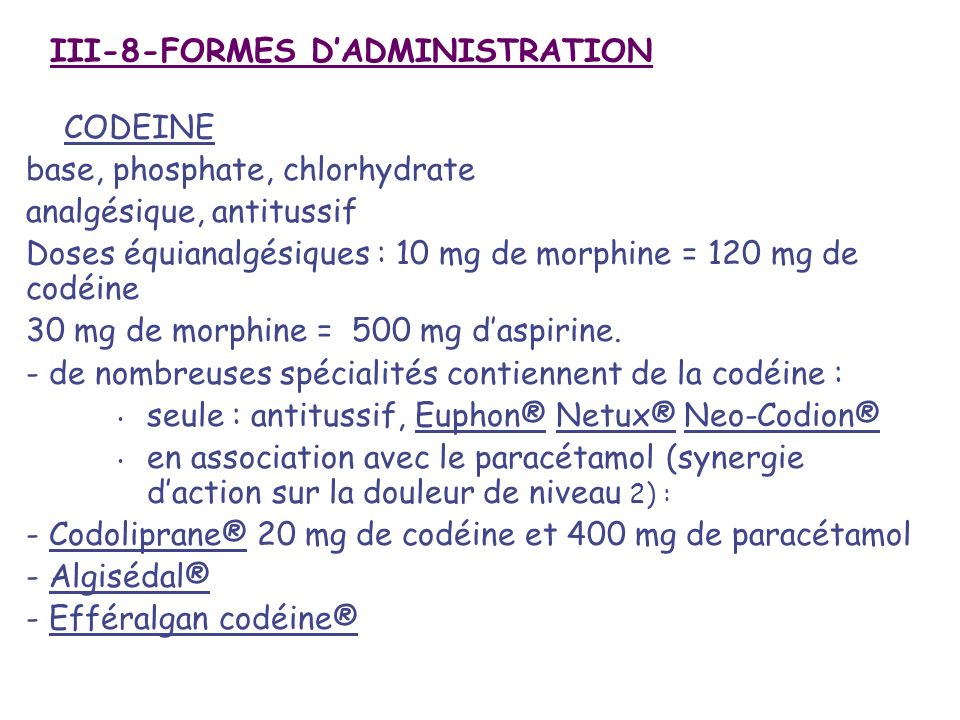III-8-FORMES D'ADMINISTRATION