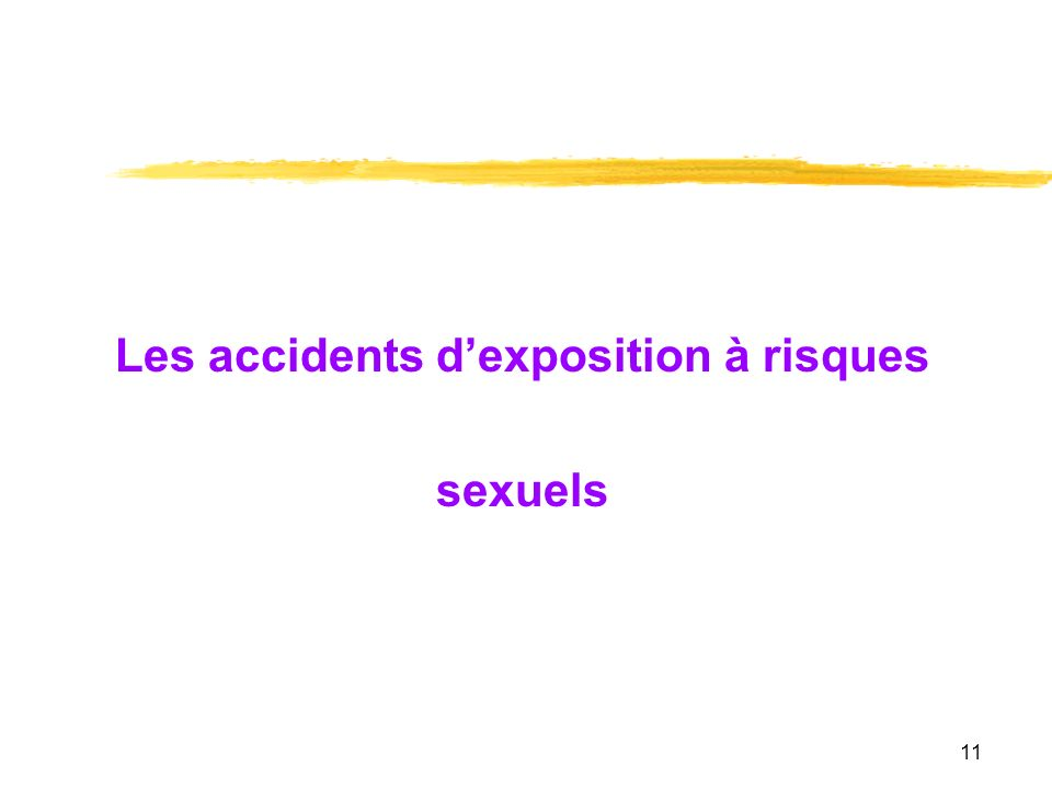 Les accidents d'exposition à risques