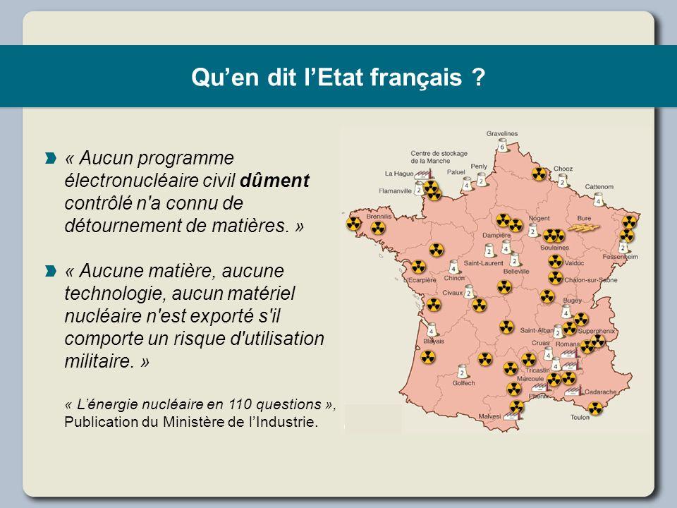 Qu'en dit l'Etat français