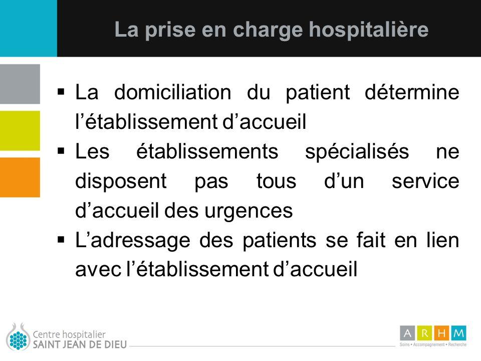 La prise en charge hospitalière
