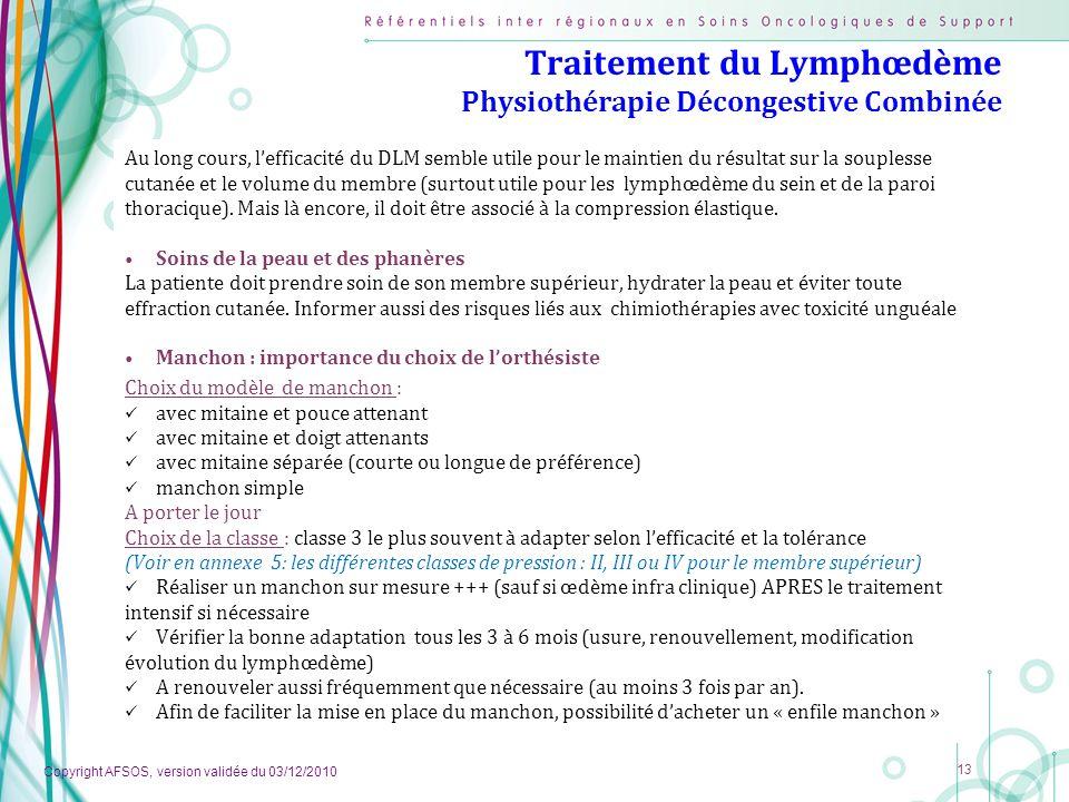 Traitement du Lymphœdème Physiothérapie Décongestive Combinée