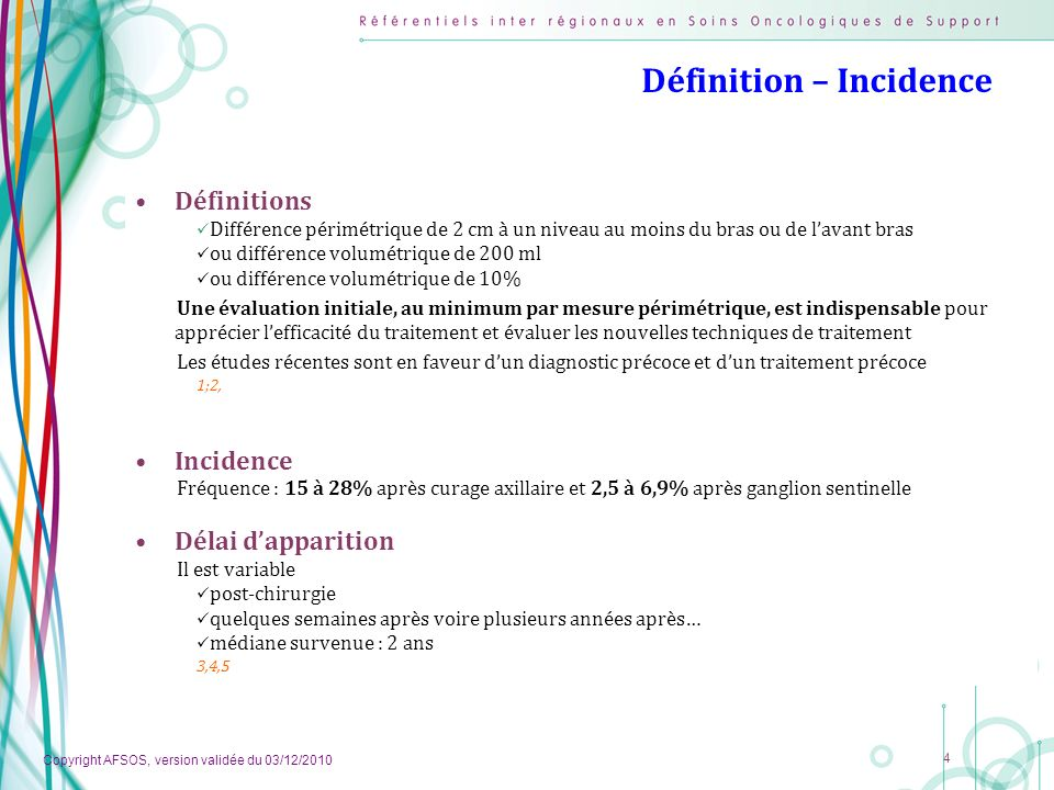 Définition – Incidence