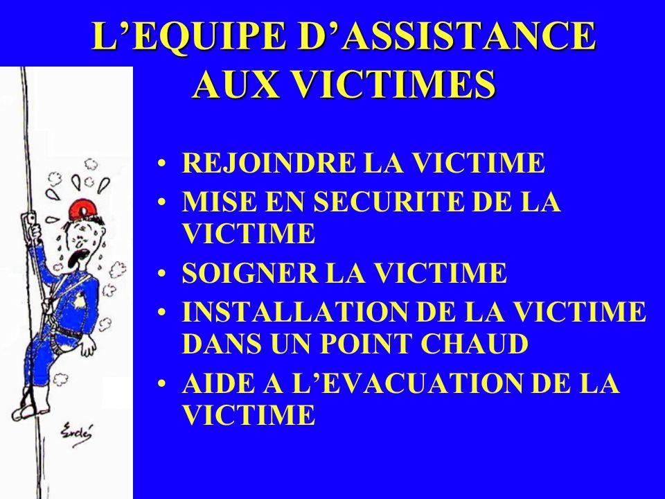 L'EQUIPE D'ASSISTANCE AUX VICTIMES