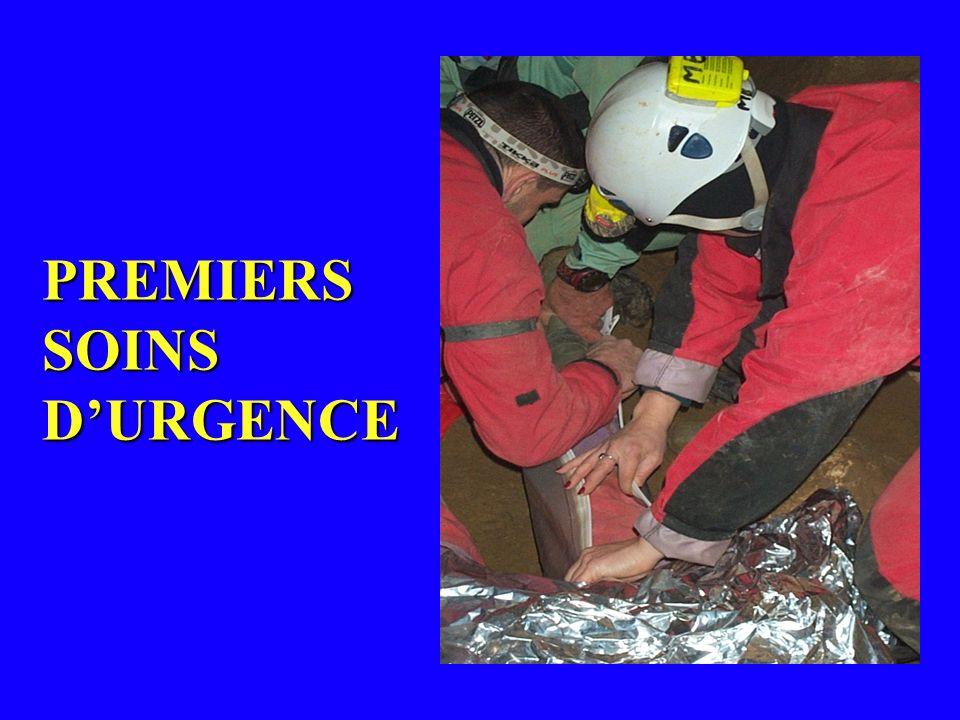 PREMIERS SOINS D'URGENCE
