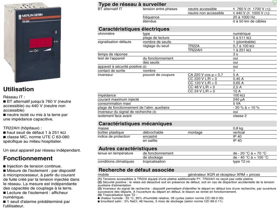 p.101 Régime IT C.P.I. caractéristiques
