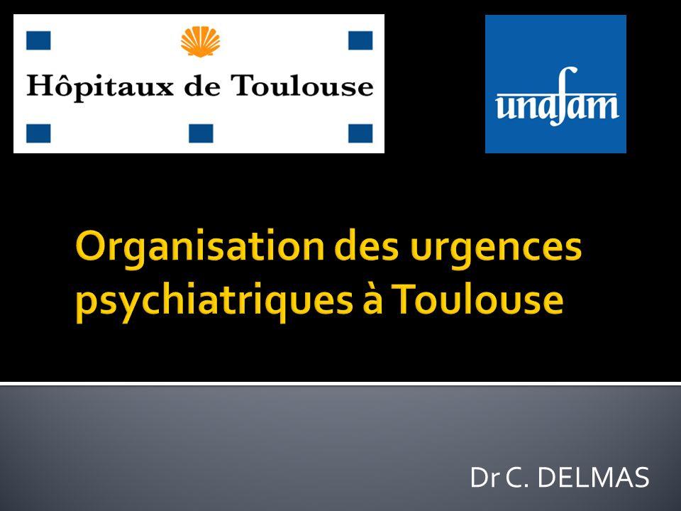 Organisation des urgences psychiatriques à Toulouse