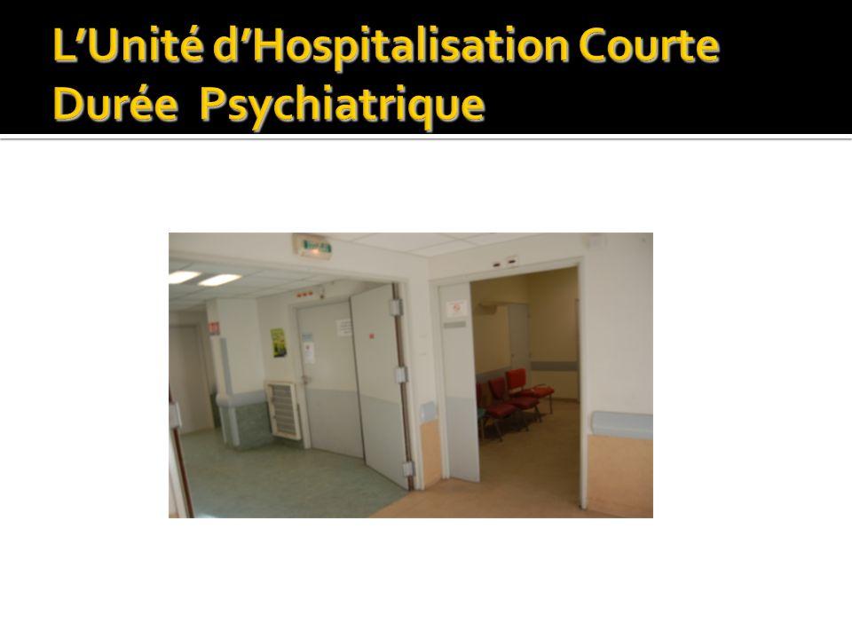 L'Unité d'Hospitalisation Courte Durée Psychiatrique