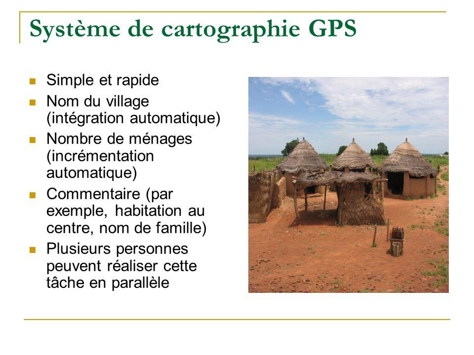 Système de cartographie GPS