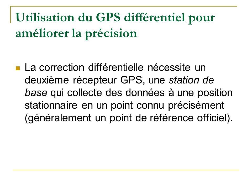 Utilisation du GPS différentiel pour améliorer la précision