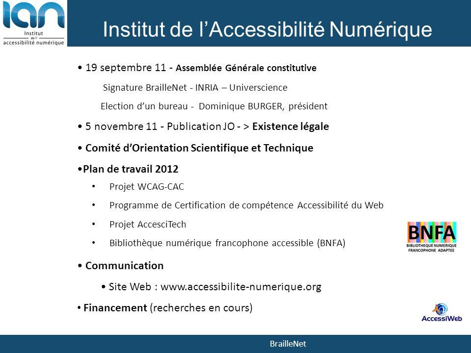 Institut de l'Accessibilité Numérique