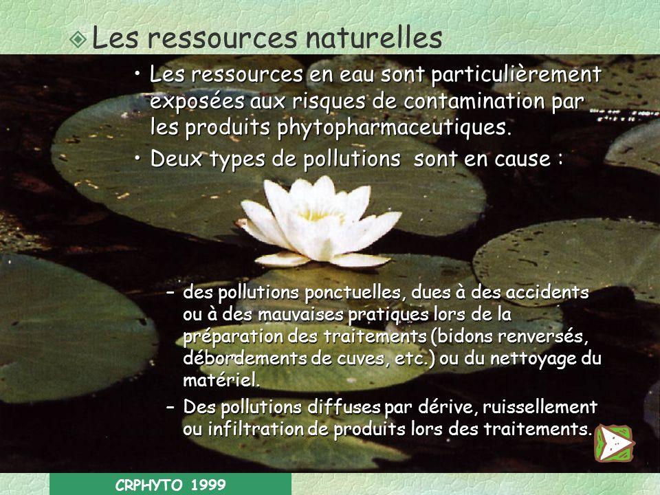 Les ressources naturelles