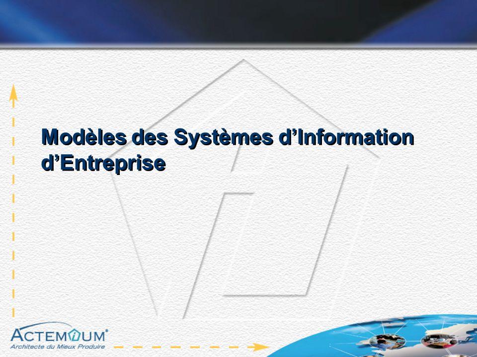 Modèles des Systèmes d'Information d'Entreprise
