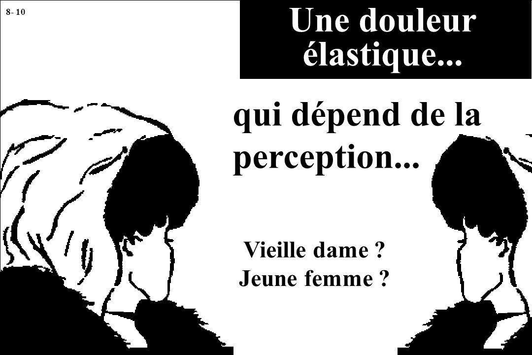 qui dépend de la perception...