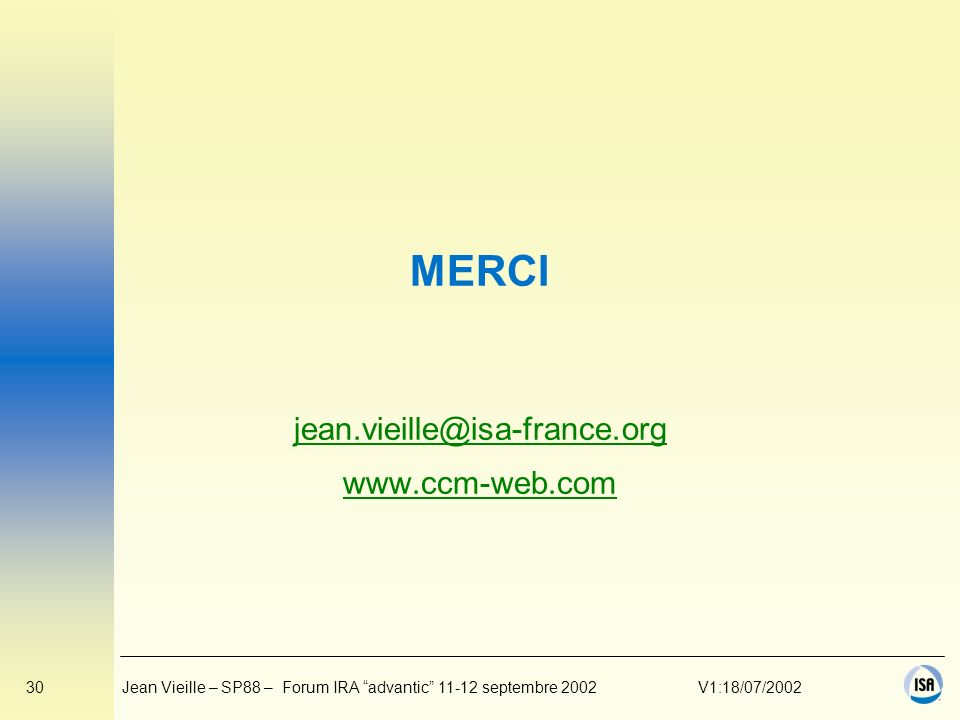 jean.vieille@isa-france.org www.ccm-web.com