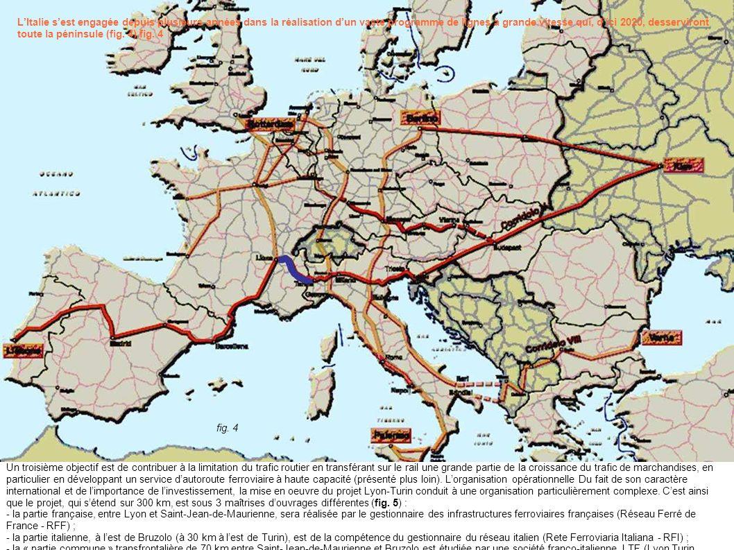 L'Italie s'est engagée depuis plusieurs années dans la réalisation d'un vaste programme de lignes à grande vitesse qui, d'ici 2020, desserviront