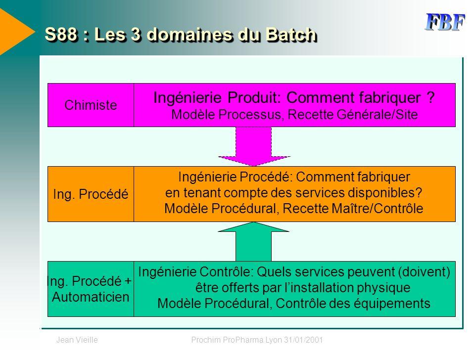 S88 : Les 3 domaines du Batch