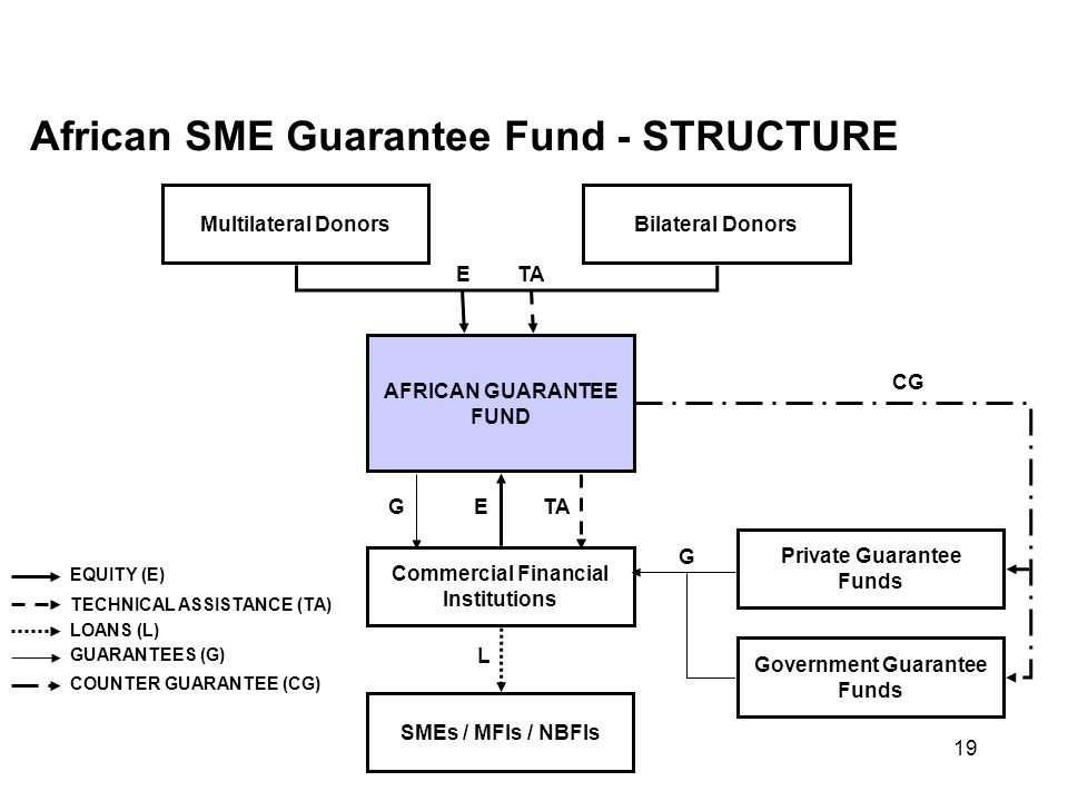 African SME Guarantee Fund - STRUCTURE
