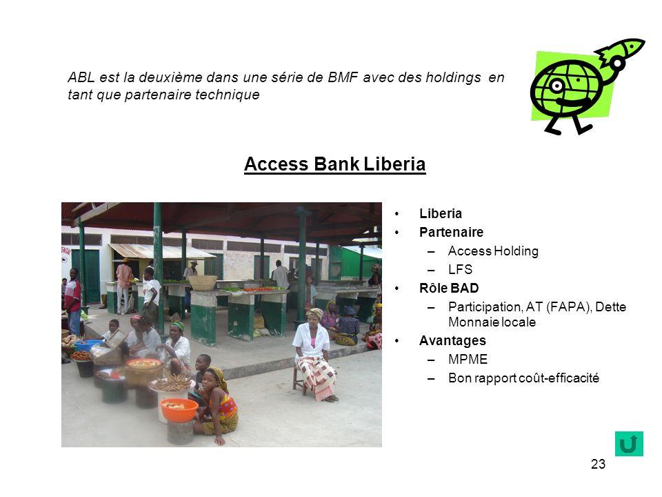 ABL est la deuxième dans une série de BMF avec des holdings en tant que partenaire technique
