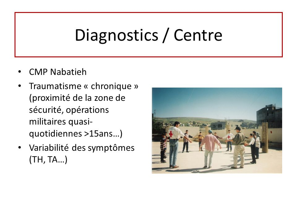 Diagnostics / Centre CMP Nabatieh