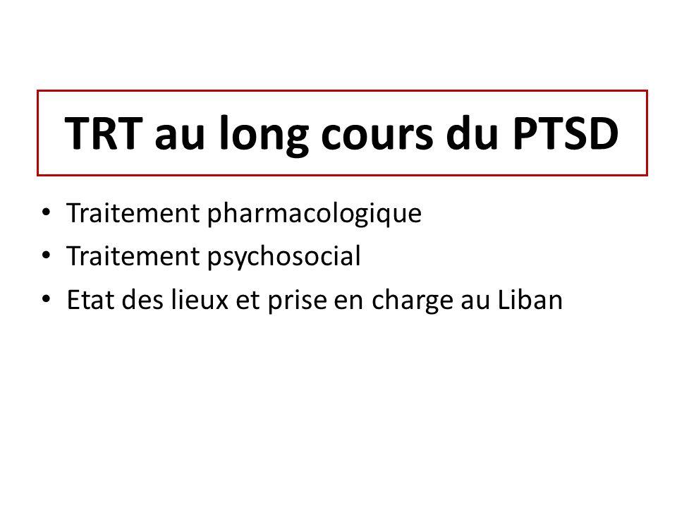 TRT au long cours du PTSD