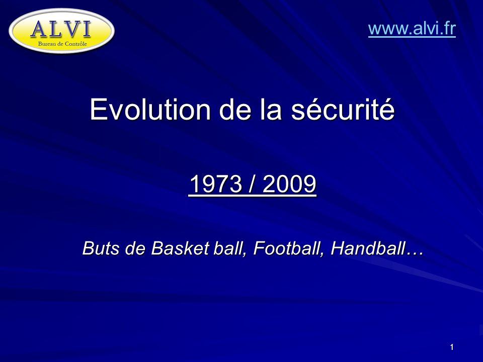 Evolution de la sécurité