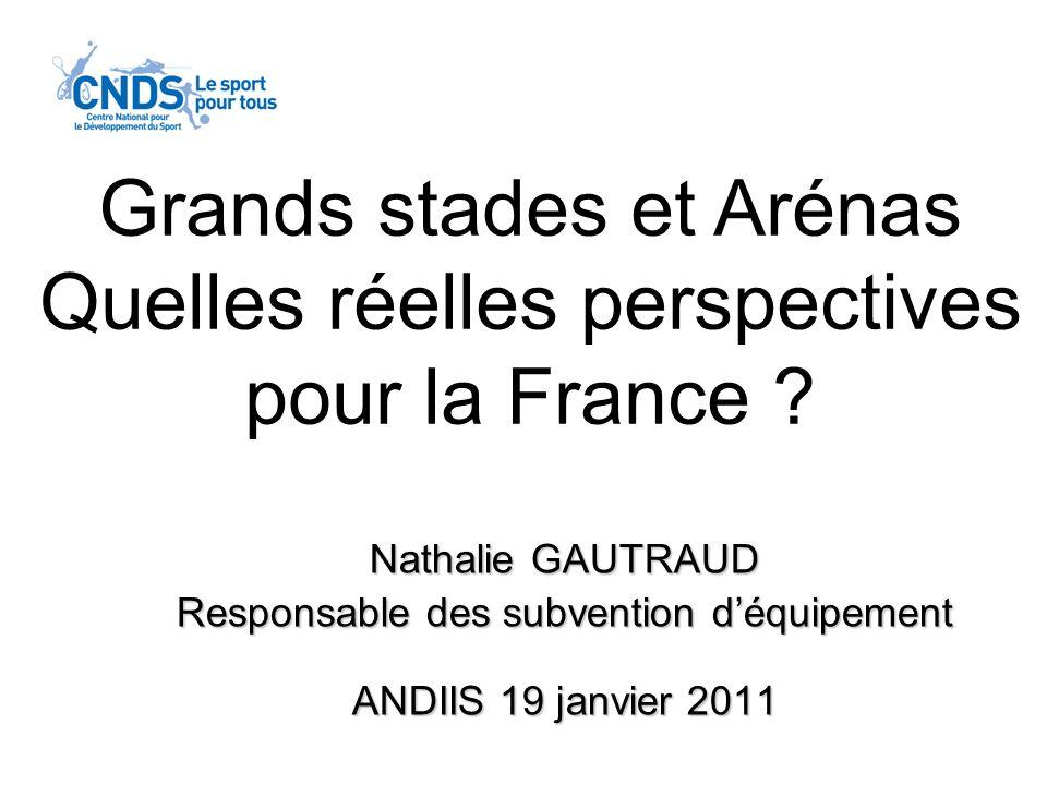 Grands stades et Arénas Quelles réelles perspectives pour la France