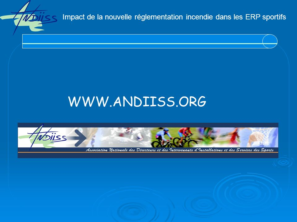 Impact de la nouvelle réglementation incendie dans les ERP sportifs