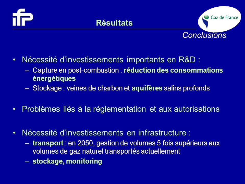 Nécessité d'investissements importants en R&D :