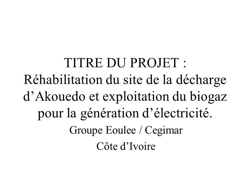 Groupe Eoulee / Cegimar Côte d'Ivoire