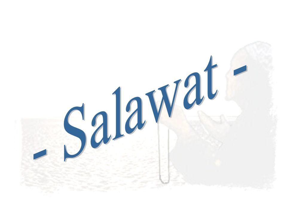 - Salawat -