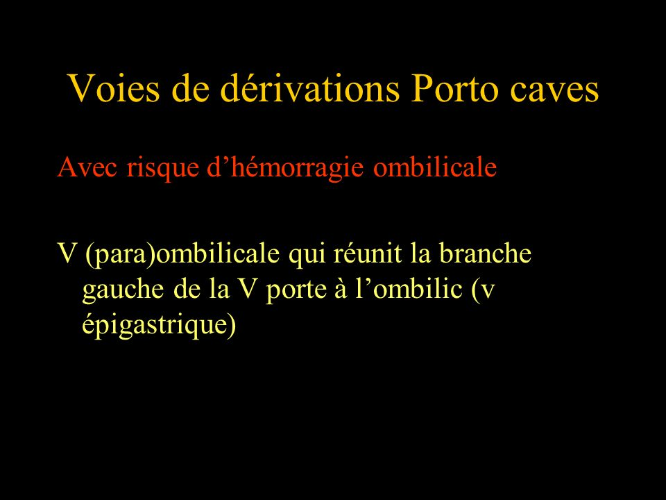 Voies de dérivations Porto caves