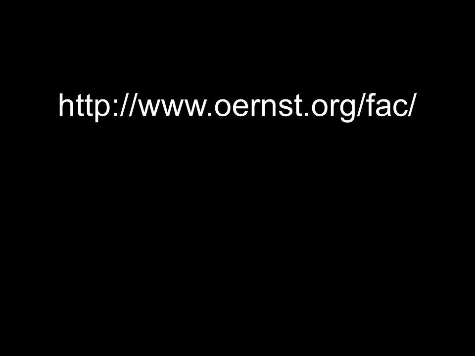 http://www.oernst.org/fac/ 131