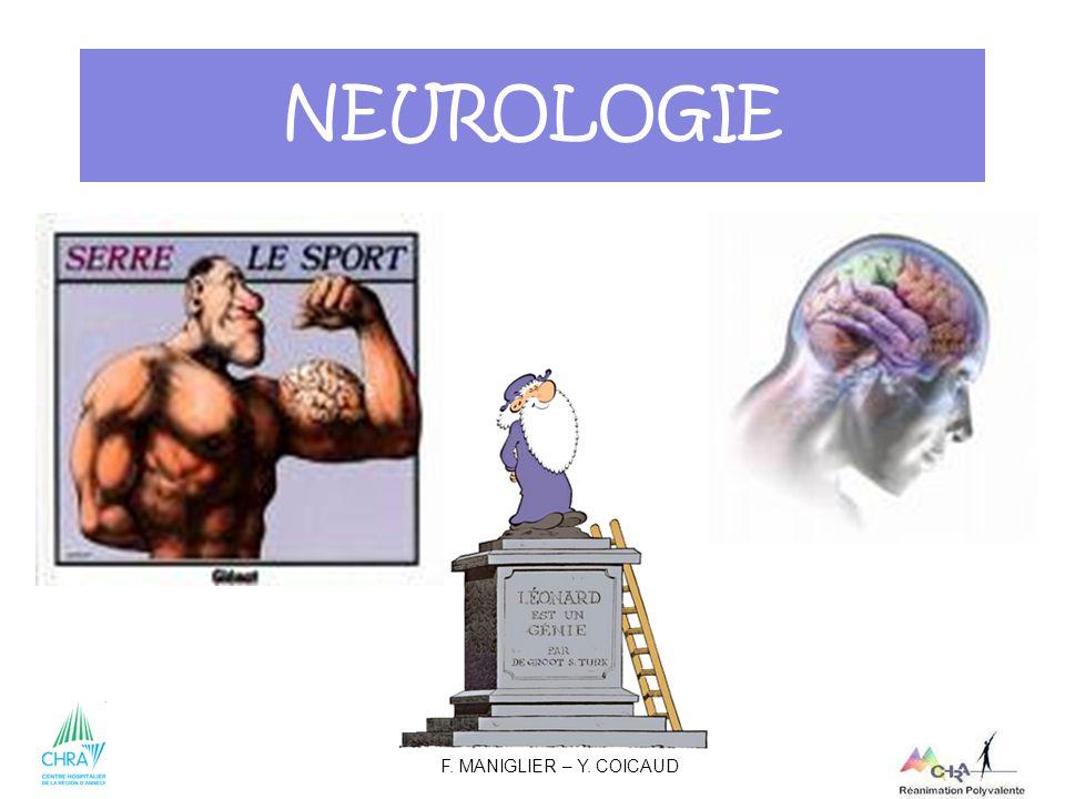 NEUROLOGIE F. MANIGLIER – Y. COICAUD