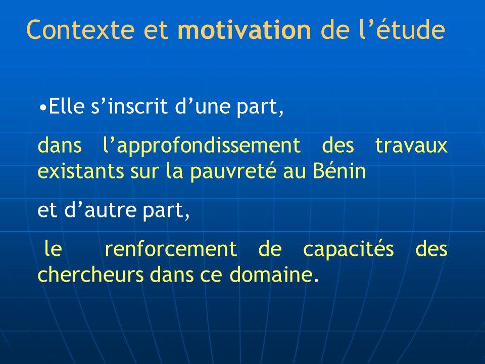 Contexte et motivation de l'étude