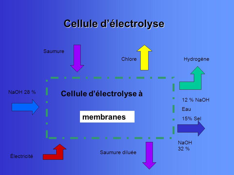Cellule d'électrolyse