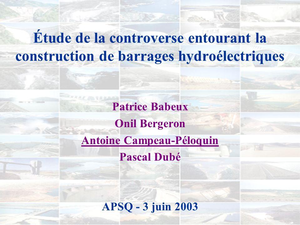 Patrice Babeux Onil Bergeron Antoine Campeau-Péloquin Pascal Dubé