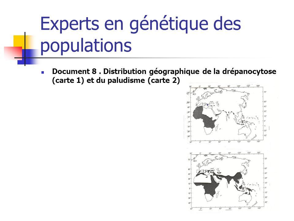 Experts en génétique des populations