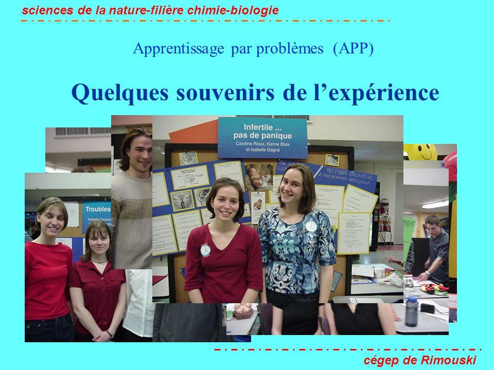 Apprentissage par problèmes (APP)