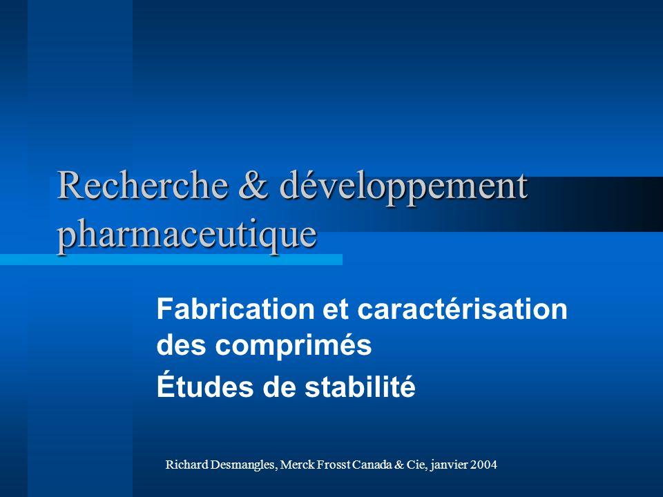 Recherche & développement pharmaceutique