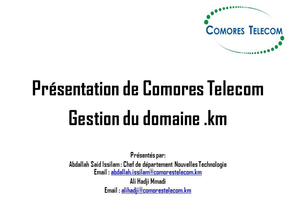 Présentation de Comores Telecom
